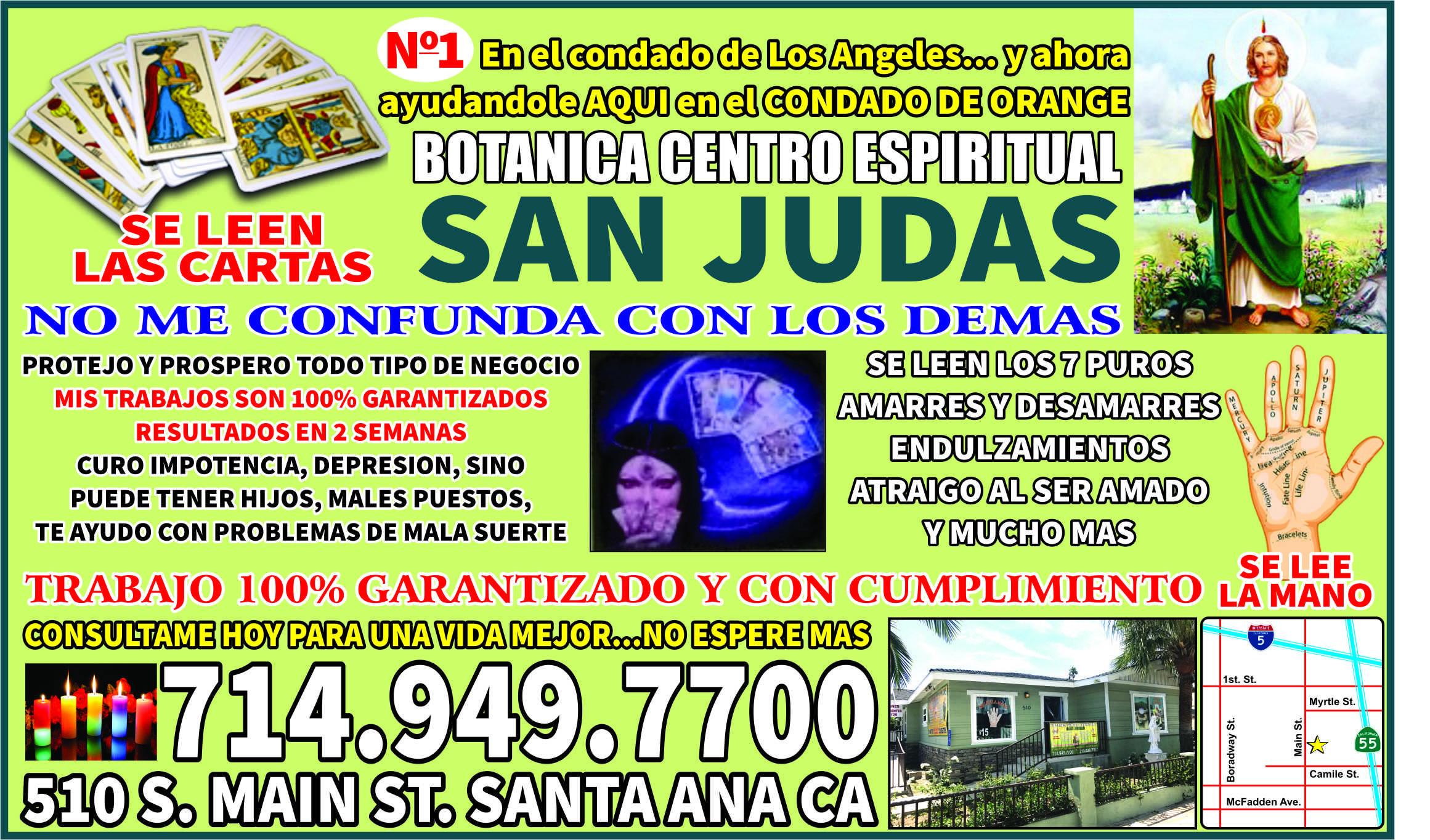 Botanica Centro Espiritual San Judas Videntes # Muebles San Judas