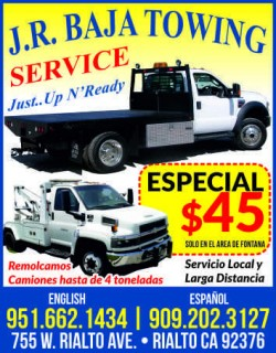 J.R. Baja Towing