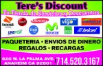 Tere's Discount