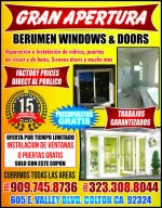 Berumen Windows & Doors