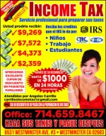 carrillo's income tax