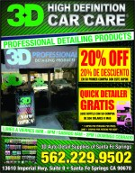 3D High Definition Car Care
