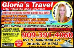 Gloria's Travel