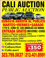 CaliCar Auction