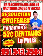 Solicito Choferes