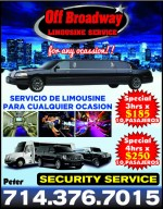 Off Broadway Limousine Service
