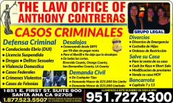 The Law Office Of Anthony Contreras