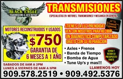 Black Eagle Transmissions & Auto Repair